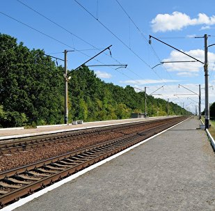 Железная дорога, архивное фото