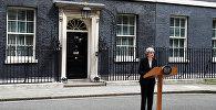 Брифинг премьер-министра Великобритании Терезы Мэй по итогам заседания чрезвычайного комитета после взрыва в Манчестере