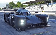 Болид Dallara российской команды на тестах в Ле Мане