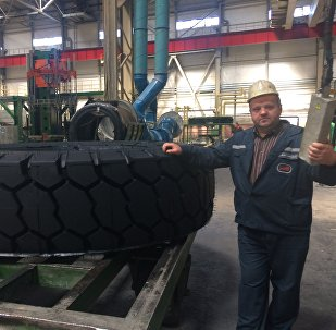Видеофакт: производство шин-великанов на Белшине