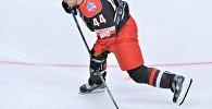 Белорусский хоккеист Владимир Денисов на Матче всех звезд КХЛ-2016