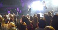 Выступление Тео на конкурсе Королева Весна в Минске