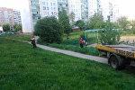 Машина без водителя снова сбила пенсионерку, на этот раз в Гродно