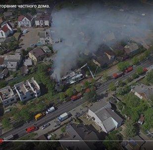 Пожар на ул. Аннаева