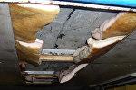 Спрятанное в машине сало