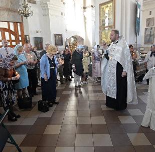 Паніхіда па Багдановічу прайшла ў Петрапаўлаўскім саборы