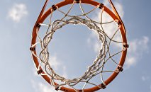 Баскетбольная корзина, архивное фото