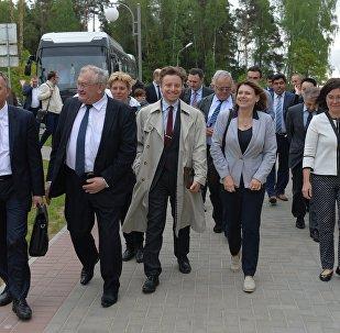 Зарубежные дипломаты приехали на экскурсию на БелАЭС