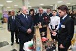 Гимназист показал президенту 3D-принтер собственной разработки
