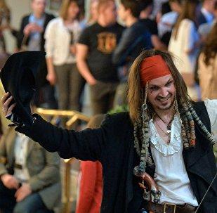 Перед премьерой фильма Пираты Карибского моря: Мертвецы не рассказывают сказки