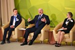Встреча президента Александра Лукашенко со школьниками
