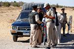 Египетская полиция на месте теракта