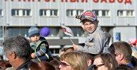 Гости на Дне рождения Минского тракторного завода