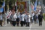 Процессия Божьего тела прошла в центре Минска