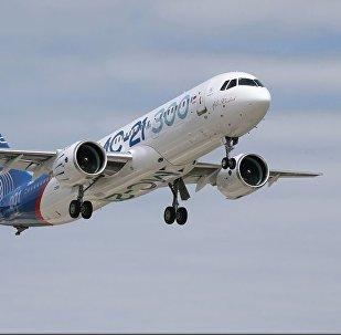 МС-21-300 – пассажирский самолет нового поколения