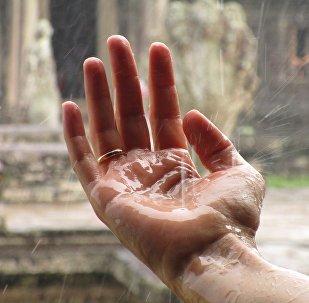 Летний дождь, архивное фото