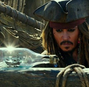 Кадр из фильма Пираты Карибского моря