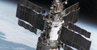 Арбітальная станцыя Салют-7, архіўнае фота