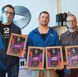 Петля пристрастия на прэміі Rock Profi-2017