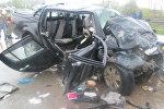ДТП в Пермском крае: в городе Березники в аварии три человека погибли, четыре – получили травмы