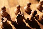 Шахматные фигуры, архивное фото