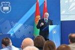 Президент Беларуси Александр Лукашенко на собрании НОК