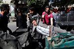 Пострадавшие в результате взрыва в Кабуле