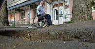Как инвалиду попасть в здание МРЭК в Минске - парковка на Кальварийской