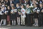 Акцыя Падары дзіцяці футбольны мяч