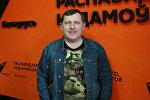 Начальник концертного отдела Дворца Республики Геннадий Ильинчик