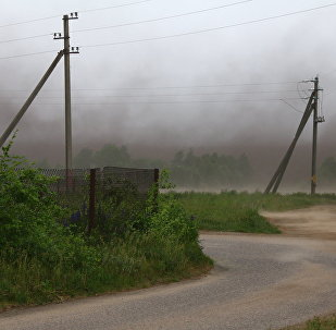 Ураган под Лидой