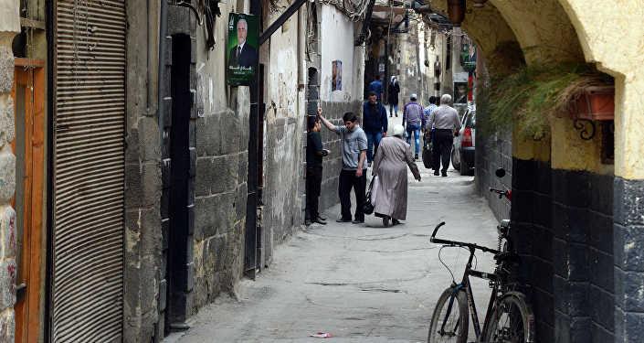 Улицы Дамаска, архивное фото