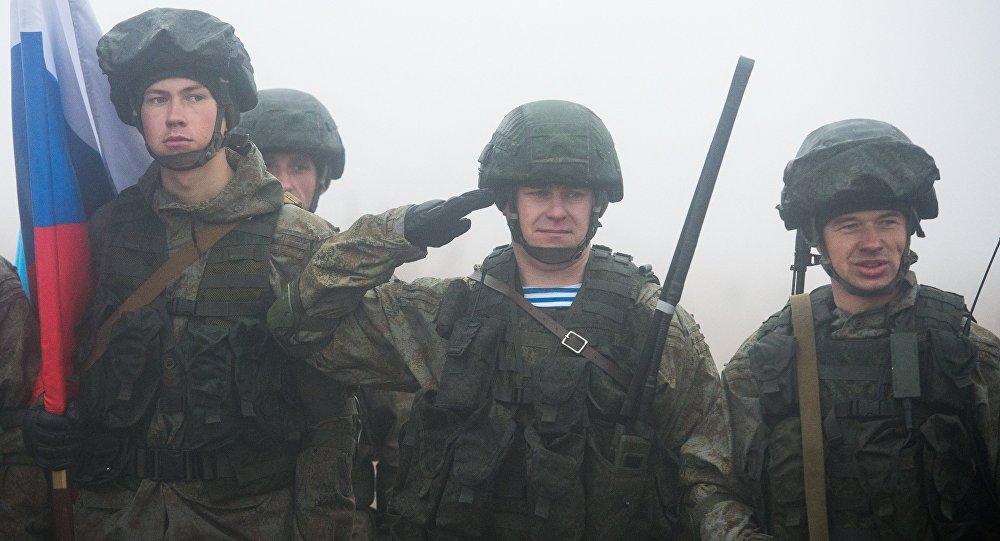 Русские десантники прибыли вБрест