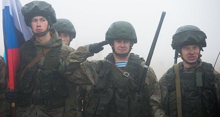 Русские военные прибыли вБрест научения «Славянское братство»