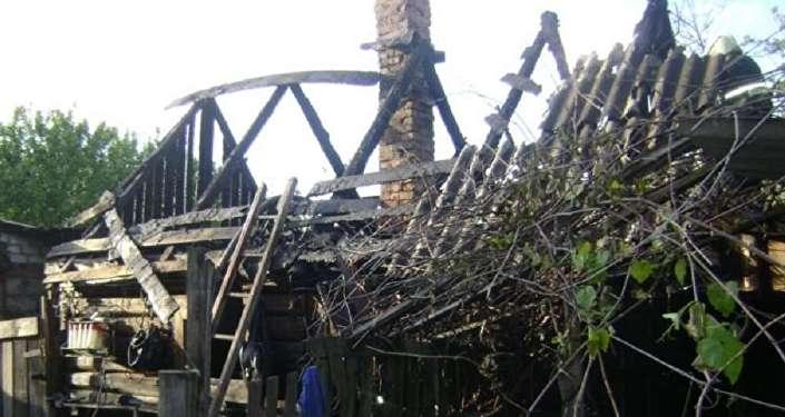 Рабочий получил тяжелые ожоги на пожаре бытовки в Бресте