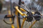 Колесо велосипеда, архивное фото