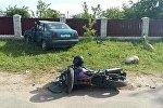 Место аварии в Червенском районе