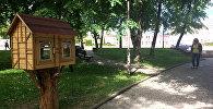 У Наваградку з'явіліся домікі для абмену кнігамі