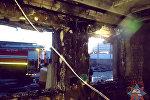 Пожар в Бресте