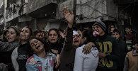Фоторепортаж из Сирии под названием Осколки разбитой тишины