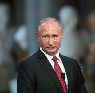 Прэзідэнт Расіі Уладзімір Пуцін