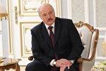 Президент Беларуси Александр Лукашенко на встрече с премьер-министром Молдовы Павлом Филипом