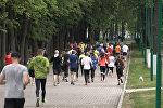 Всемирный день бега отметили участники движения #followminsk