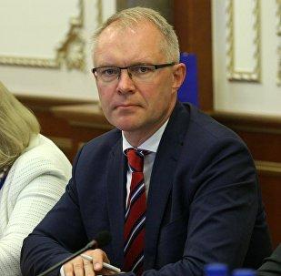 Эстонский парламентарий Ханнес Хансо