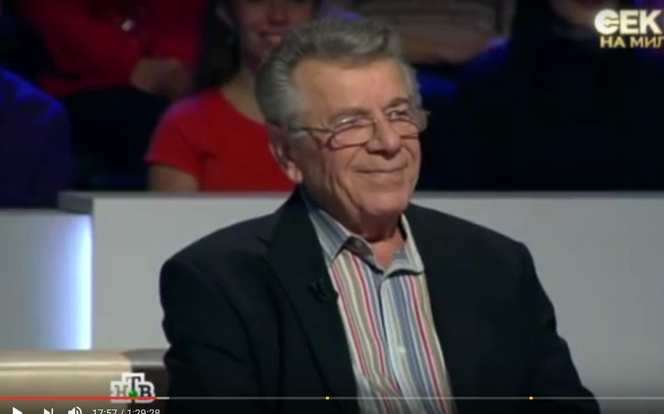 Старший брат Бориса Моисеева Марк в эфире передачи НТВ Секрет на миллион