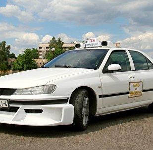 Копію таксі з аднаіменнага фільма Люка Бесона стварыў жыхар Ваўкавыска