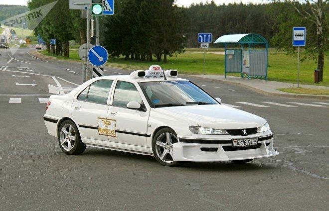 Марсельское такси на улицах Волковыска