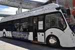Белорусский электробус на выставке ЭКСПО-2017 в Казахстане
