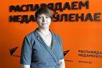 Лидер общественного объединения Говори правду Татьяна Короткевич