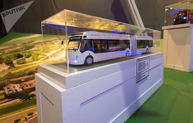 На выставке ЭКСПО-2017 представлен электробус
